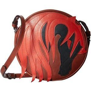 Authentic NWT Just Cavalli Horse Crossbody Bag